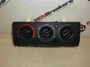 Renault Clio MK2 2001-2006 Heater Controls Dials NON AC 8200147157