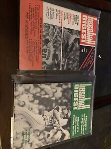 Frank Robinson Baltimore Orioles 1969 1972 Baseball Digest Excellent X2 No Label