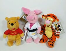 Disney Winnie the Pooh & Friends Mini Bean Bag Plush Toy Lot Piglet Tigger Pooh