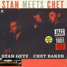 ♫ 33 T STAN GETZ AND CHET BAKER - STAN MEETS CHET - 180 G ♫