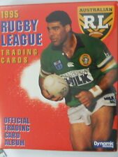 1995 Rugby League Series 1 & 2 total of 440 cards & 24 insert cards plus album
