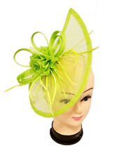 Ladies Large Headband and Clip Hat Fascinator Weddings Day Race Royal Ascot