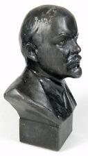 Rare Vladimir Lenin Cast Metal 14cm Bust Sculpture 1980 Signed Gevorkyan USSR