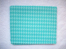 RARE & OOP Urban Chiks Summer in the City AQUA BLUE BIRD HOUNDSTOOTH *2007 & New