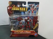 Rare Marvel Iron Man 2 Concept Series Armor Tech Shockwave Mission Nosc
