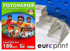 Fotopapier 220 gsm A4 50 Blatt Matt 2-seitig Premium