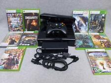 Xbox 360 S 250 GB Console Bundle + Kinect Sensor Bar + 10 Games ~SINGULARITY~