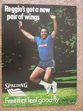 1979 RARE Reggie Jackson Spalding Shoes Store Display Sign Feet That Fly