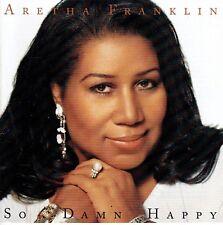 CD - ARETHA FRANKLIN - So damn happy