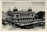 Old Royal Palace Belgrade Yugoslavia  1930s Trade Ad Card