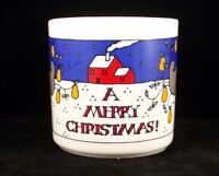 FPC Merry Christmas Holiday Coffee Mug 12 Ounce Made in England Vintage