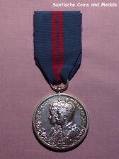 1911 OFFICIAL KING GEORGE V DELHI DURBAR MEDAL IN SILVER