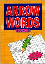 Arrow Word General Knowledge Adult Crossword 67 Puzzles Brain Train A4 Book 3215