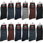 New 12 Pairs Mens Dress Socks Fashion Casual Crew Multi Color Cotton Size 10-13