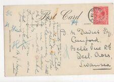 Mr D M Davies Canford Belle Vue Road West Cross Swansea 1933 294a
