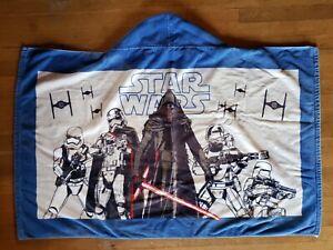 Pottery Barn Kids Star WarsCotton Hooded Cape Wrap Towel