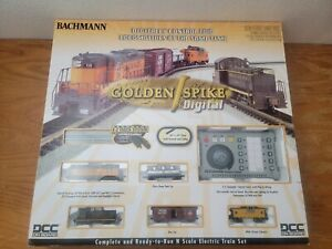 "BACHMANN Golden Spike Digital ""N"" Scale Train System New condition"