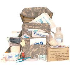 Trifold IFAK EMT OD Olive Drab CLS Medic Bag First Aid Medical Kit w/ Supplies