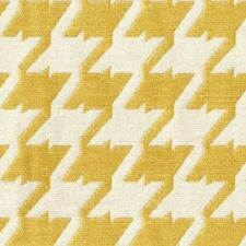 Bohemian 502 Lemon Jaquard Upholstery Drapery Bedding Fabric Houndstooth YD