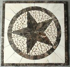 "Marble Travertine Tile  Medallion Design Stone 32"" #48a"