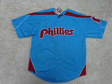 Philadelphia Phillies  Cooperstown Jersey Old School  All Sewn  ( L )