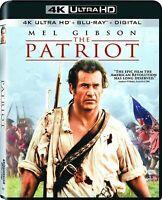 The Patriot No Slipcover (4K Ultra HD, Blu-ray, Digital) NEW Sealed, Free Ship