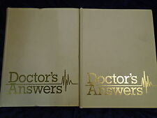 * 2 DOCTOR'S ANSWERS BINDERS A-H by MARSHALL CAVENDISH * UK FREE POST* HB*
