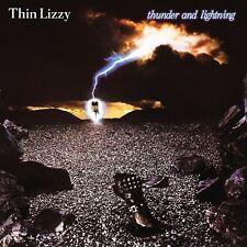 THIN LIZZY - Thunder and Lightning 2 x LP Vinyl Album + LIVE - COLD SWEAT - New