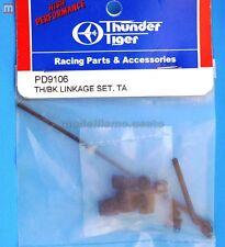 Thunder Tiger PD9106 Barrettes TA Manette des gaz/Break Linkage Set modélisme