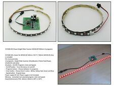 30 RGB LED Chaser Knight Rider Scanner WS2812B 500mm 11 programs - HK9801