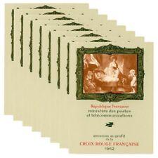 FRANCE 8 CARNETS CROIX-ROUGE N°2011, TIMBRES NEUFS DE 1962