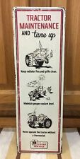 International Harvester Tractor Service Sign Farm Seed Feed Gas Oil Barn