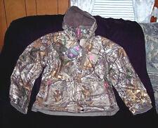Womens Camo Rain Jacket Realtree Camo Jacket Large Hunting Jacket Waterproof $70