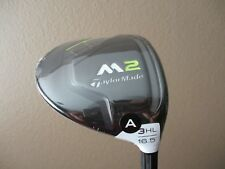 NEW! TAYLORMADE 2017 M2 16.5* HL 3 WOOD REAX 55 SENIOR A FLEX + HEAD COVER