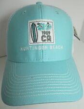 Huntington Beach Hat Cap Trucker Snapback California Surfing USA Embroidery New