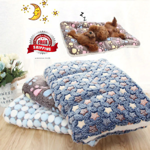 Soft Flannel Thickened Pet Soft Fleece Pad Pet Blanket Bed Mat For Cat Or Dog