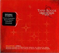 "CIRQUE DU SOLEIL ""TAPIS ROUGE: SOLARIUM CHILL"" CD 2004 zing sealed a"