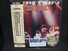 ANGEL Live Without A Net Japan Mini LP SHM 2 CD UICY-78063/4 Giuffria Kiss 2017