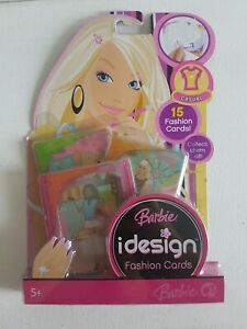 BARBIE iDesign Fashion Cards - CASUAL