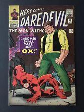 Daredevil #15. 1966 Marvel Comics. 1st appearance OX