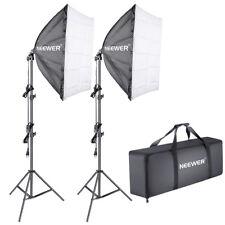 Neewer 700W (2* 85w Bombilla Luz Continua) Kit de Iluminación Softbox