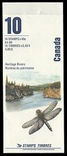 """CANADA BK131 - Heritage Rivers """"Wilderness Rivers"""" Booklet (pa27595) NH"""