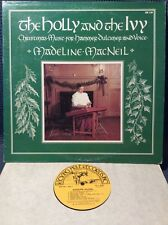 MADELINE MACNEIL The Holly And The Ivy DULCIMER NM KICKING MULE 230 LP 1983