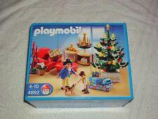 Playmobil 4892 Salón Con Luz Árbol De Navidad Nuevo En Caja Sellada