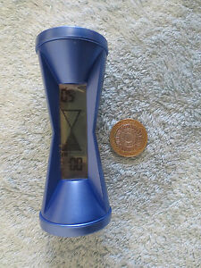 2 NEW BLUE NOVELTY FUN LCD EGG TIMER  WITH CLOCK AND ALARM colour blue