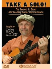 Take A Solo Secrets To Blues Country Guitar Improvisation Learn Play MUSIC DVD