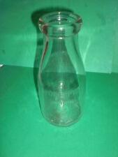 VINTAGE One PINT MILK BOTTLE   Glass bottle