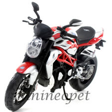 MAISTO 11097 2012 MV AGUSTA BRUTALE 1090 RR BIKE MOTORCYCLE 1/12 RED / SILVER