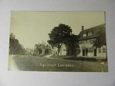 K624 - George & Dragon HIGH STREET CAMPDEN Gloucestershire - Real Photo POSTCARD