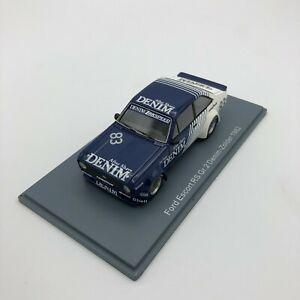 Modellino Auto Neo scale models 1/43 ford Escort RS Gr.2 Denim-Zolder 1982